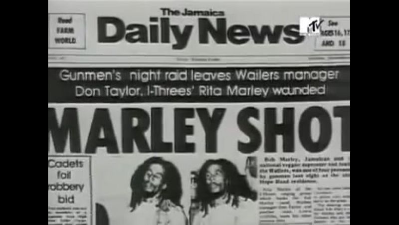 Bob Marley - Iron lion zion (MTV)