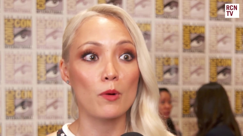 Pom Klementieff Interview Guardians Of The Galaxy Vol 2 SDCC 2016