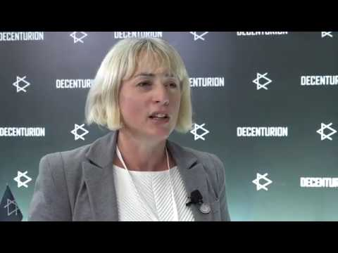 Helen Disney at the Second Congress of Decenturion citizens in Moscow