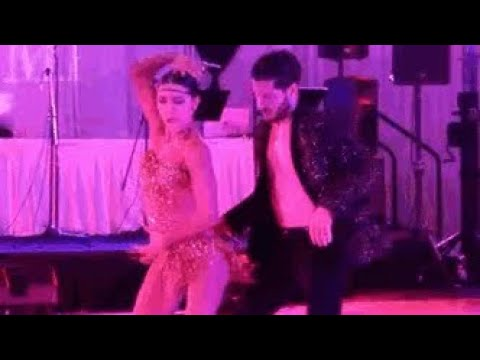 Jenna Johnson Val Chmerkovskiy - DWM Invitational clips