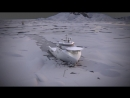 Icebreaker. 3ds max, RayFire, FumeFX