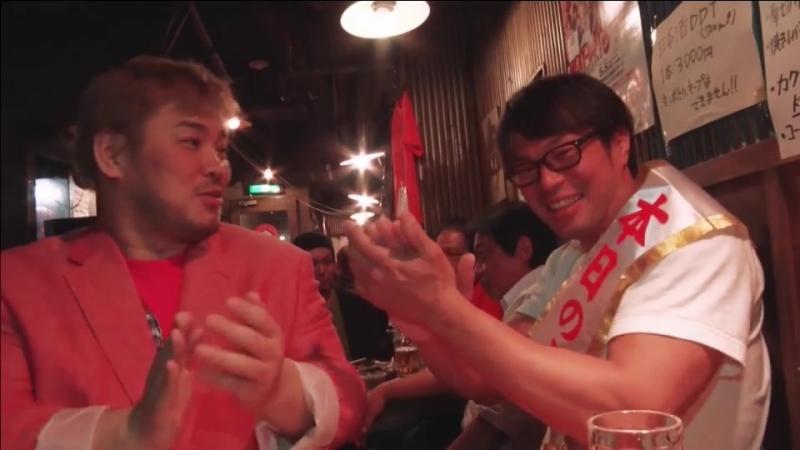 Danshoku Dino, Makoto Oishi (c), Super Sasadango Machine vs. KUDO, Yukio Sakaguchi, Masahiro Takanashi (DDT - What are You Doing