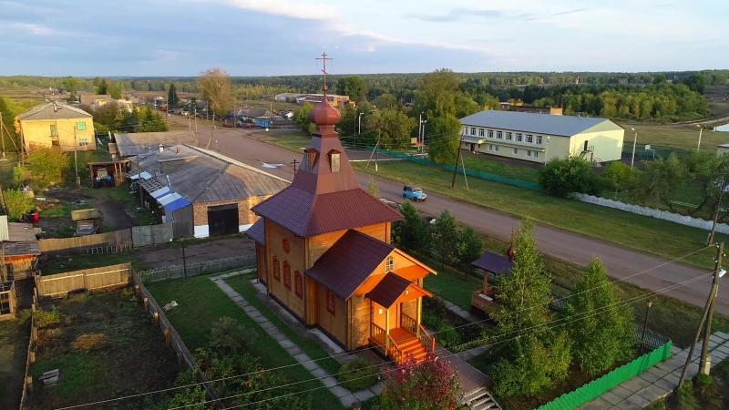 Храм в честь святой равноапостольной Марии Магдалины (село Новогородка, сентябрь 2018)