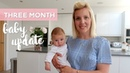3 Month Baby Update | Live 12 Weeks Injections | Development Routine