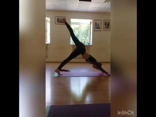 Персональные тренировки по йоге с Екатериной Сидоровой