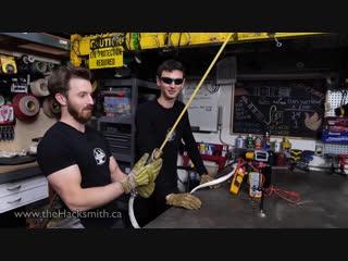 Прототип светового меча