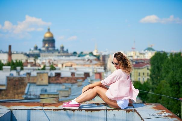 DtWKfrILaZg - Фотосессии на крышах Питера
