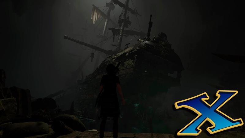 Shadow of the Tomb Raider (ГРОБНИЦЫ) №4: Сан-Кордова (корабль)