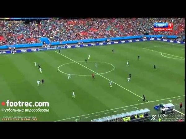 Чудо-гол Робина ван Перси в ворота сборной Испании