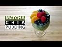 Matcha Chia Pudding