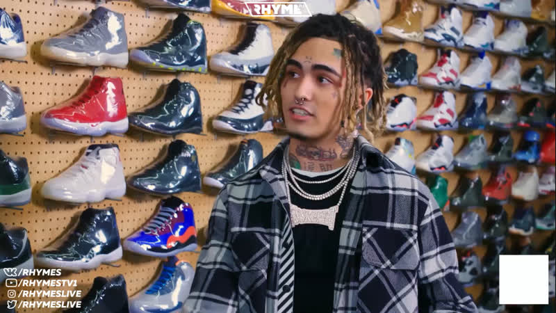 Lil Pump закупается кроссовками (Переведено сайтом Rhyme.ru)