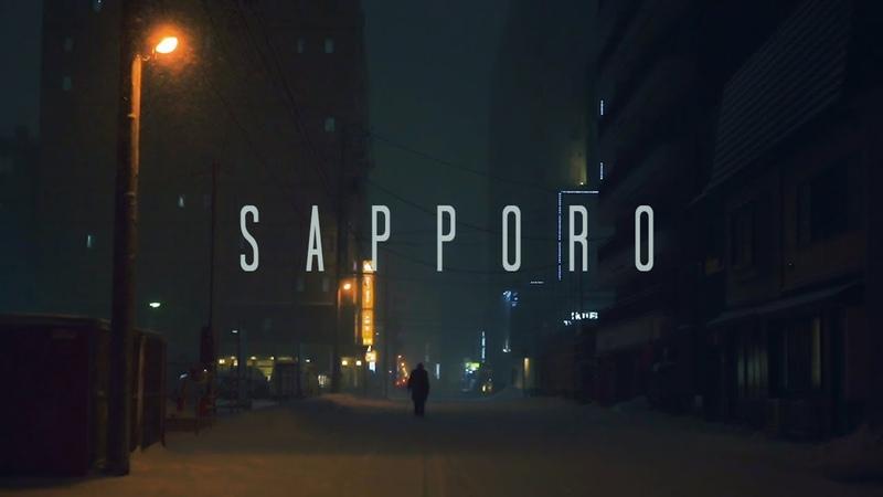 Winter in Sapporo - Cinematic Street Scenes inspired by Blade Runner 2049