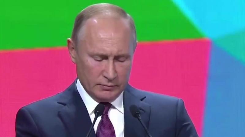 Путин Мы твердо намерены создать одну из лучших антидопинговых систем