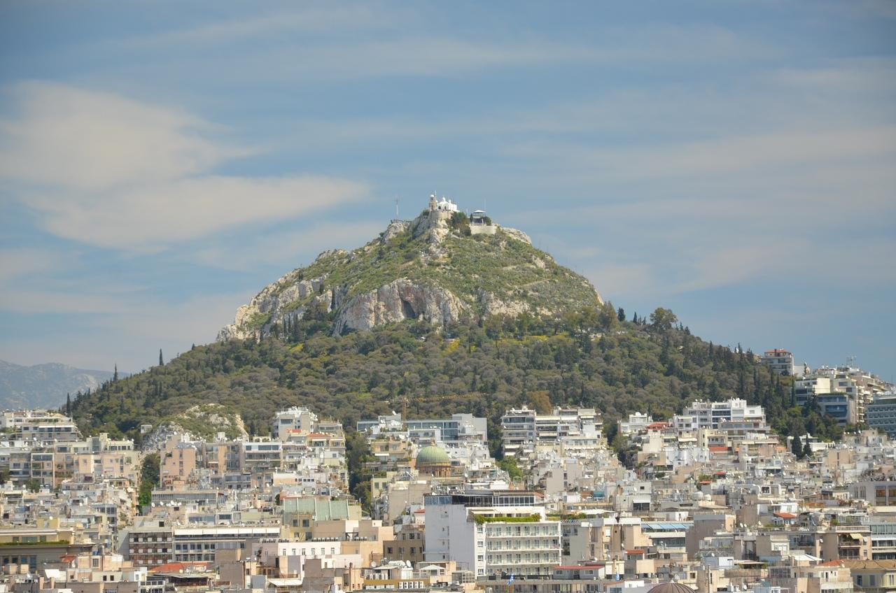 iKaiKSwSXj0 Ликавитос (Ликабет) холм в Афинах.