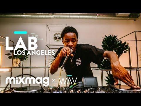DJ TAYE TEKLIFE HYPERDUB footwork in The Lab LA