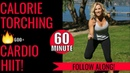 Calorie Torching Cardio HIIT -No Repeats! MODS included