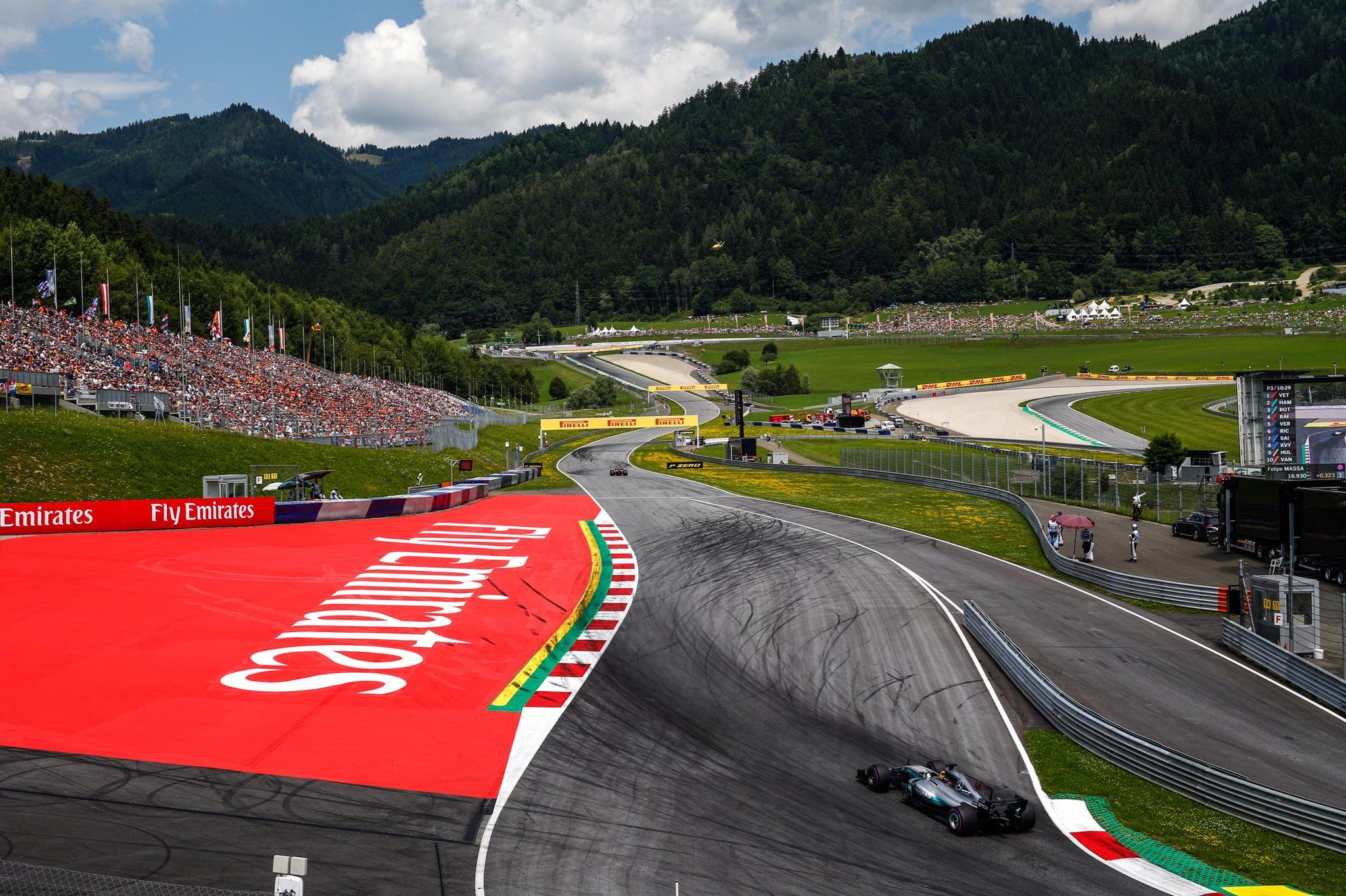 Автодром Ред Булл Ринг в Австрии