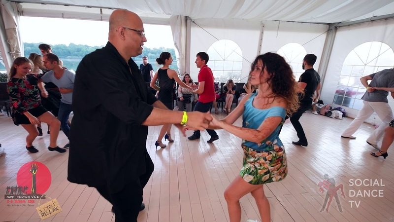 Super Mario Nadezda - Salsa social dancing at the 2018 The Third Front Salsa Festival