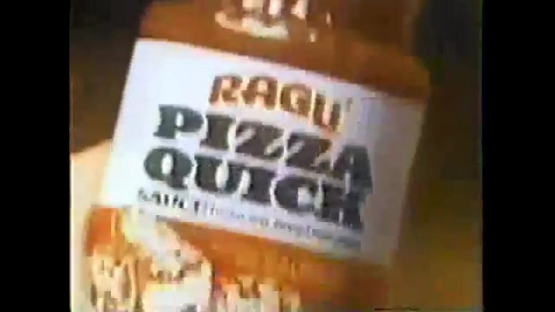 TV Commercial - 1980 - Ragu - Pizza Quick Sauce - Open Your Own Pizzeria
