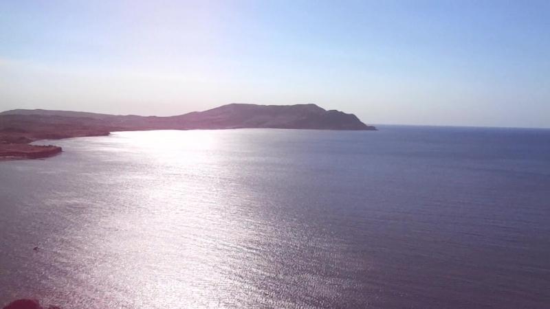 Крым.Вид на Мыс Меганом с Алчак-Кая.