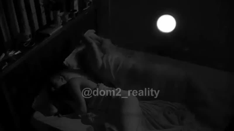 Бешеная Черно едва не разломала кровать