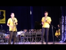 Обладатели Гран При трио саксофонистов из Хову Аксы Аялга Балган Аганак Хуурак и Манган Маады учащиеся Детской музыкальной