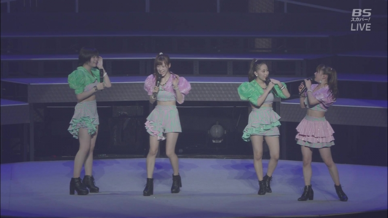 MC: Ikuta Erina, Ishida Ayumi, Oda Sakura, Kaede Kaga (~We are Morning Musume~ 2018)