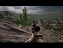 За снайпера.