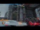AGENT убивает противника сплешем от орбы ренджера, через решетк. Карта corrupted keep