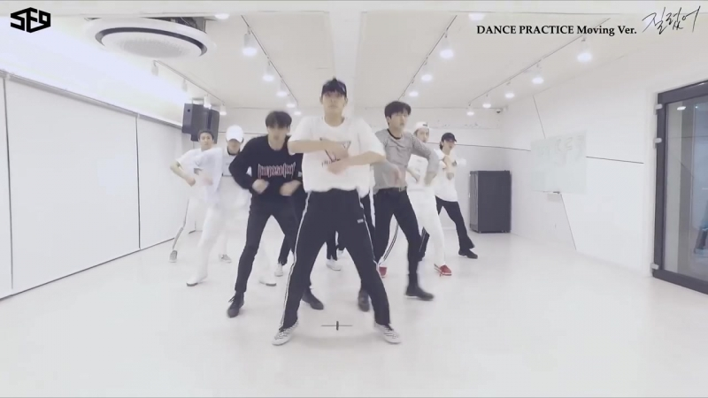 SF9 - 질렀어 (Now or Never) Dance Practice Video Moving ver