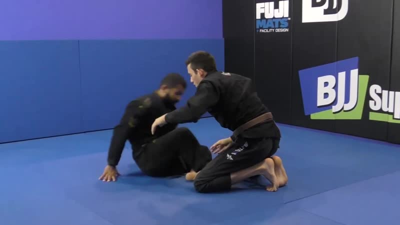 Bruno Malfacine Knee Push Sweep Butterfly Guard