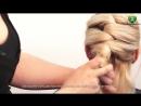 Оригинальная торжественная прическа Amazing simple hairstyle парикмахер тв parik