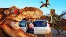 Jurassic Park T-Rex GIANT LIFE SIZE DINOSAUR Dinosaurs Island Jurassic World Остров Динозавров