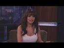 Sarah Shahi au Jimmy Kimmel live le 1er Février 2011