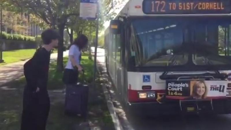 The Bus Kneels Before Zod