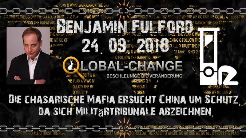 Wochenbericht Benjamin Fulford 24.09.2018 deutsch vorgelesen