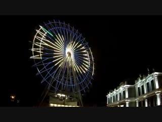 Видео: budulay_travel Колесо обозрения в городском парке Краснодара