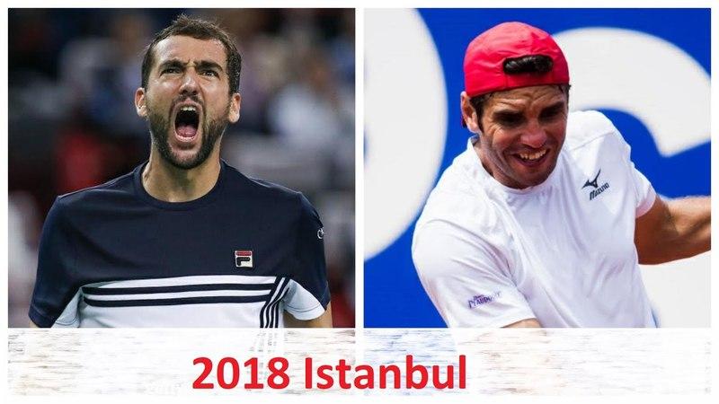 Marin Cilic vs Malek Jaziri 2018 Istanbul Highlights HD