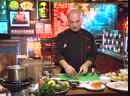 Телекафе Кухни мира Американская Суп Чаудер Салат Кобб Стейк Нью Йорк