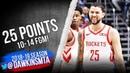 Austin Rivers Full Highlights 2019.01.13 Rockets vs Magic - 25 Pts, 10-14 FGM! | FreeDawkins