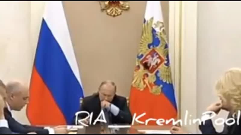 Украинцы переживают заздоровье Путина