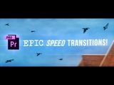 SICK Premiere Pro Speed Ramp Transitions Tutorial! (How to Whip Pan &amp Time Remapping Whoosh Effects)