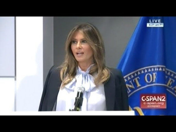 First Lady Melania Trump Hosts Summit On Prevention Of Cyber-Bullying