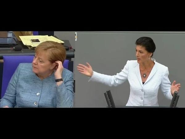 Wie krank ist DAS denn - Sahra Wagenknecht (Linke)