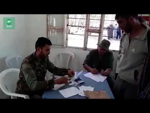 Сирия дает шанс на исправление: бывшие боевики проходят нормализацию статуса на севере Хомса