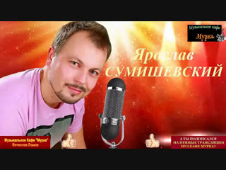 😻Муз Кафе Мурка 😻🎤♪ ♫ Живой звук. Ярослав Сумишевский