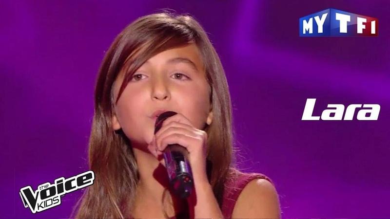 Lara - Tourne (Louane) | The Voice Kids France 2017 | Blind Audition