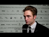 The Filmmakers @ KVIFF 2018 Interview with Robert Pattinson, 07.07.2018
