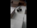 робот прошёл лабиринт