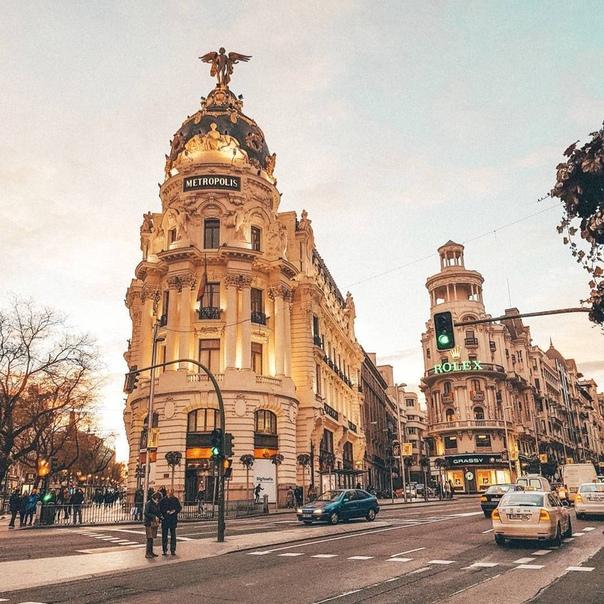 🇪🇸 Авиабилеты в Мадрид за 11400 рублей туда-обратно из Москвы осенью